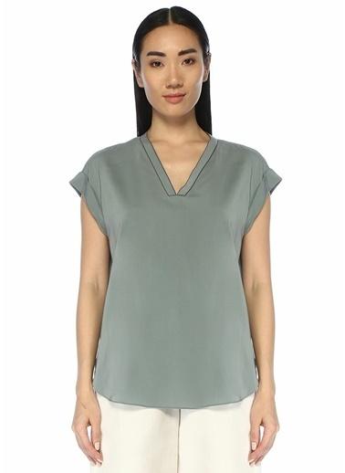 Brunello Cucinelli Bluz Yeşil